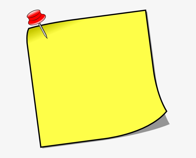 Notice Board Pin Clipart 5 By Danielle.