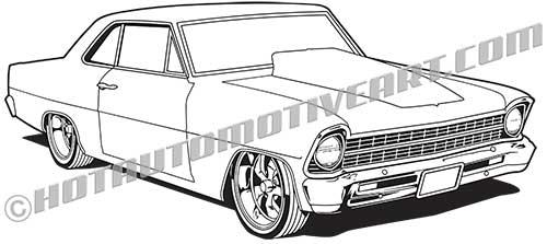 1967 Muscle Car Restomod #1.