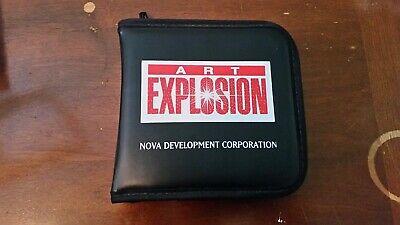 NEW! NOVA DEVELOPMENT Art Explosion 600,000 ClipArt 29 CD.