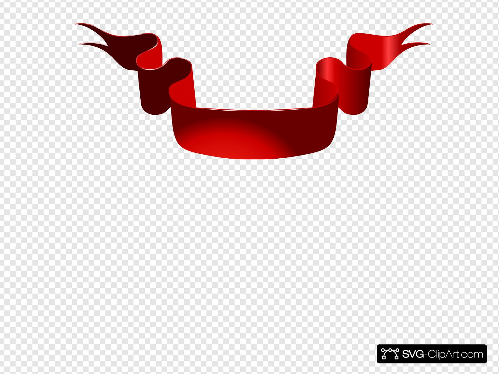 Red Ribbon Church Clip art, Icon and SVG.