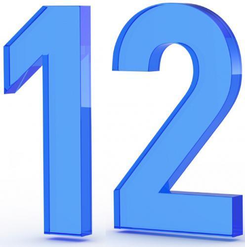 Number 12 clipart 5 » Clipart Portal.
