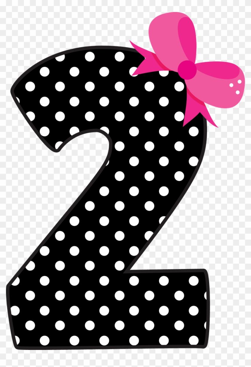 7 Clipart Polka Dot Number.