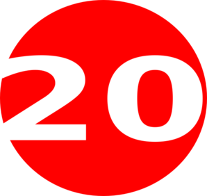 Free Number 20 Cliparts, Download Free Clip Art, Free Clip.