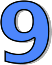 Number 9 Cliparts.