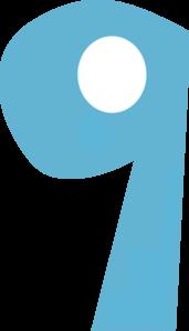 Number Nine PNG, SVG Clip art for Web.