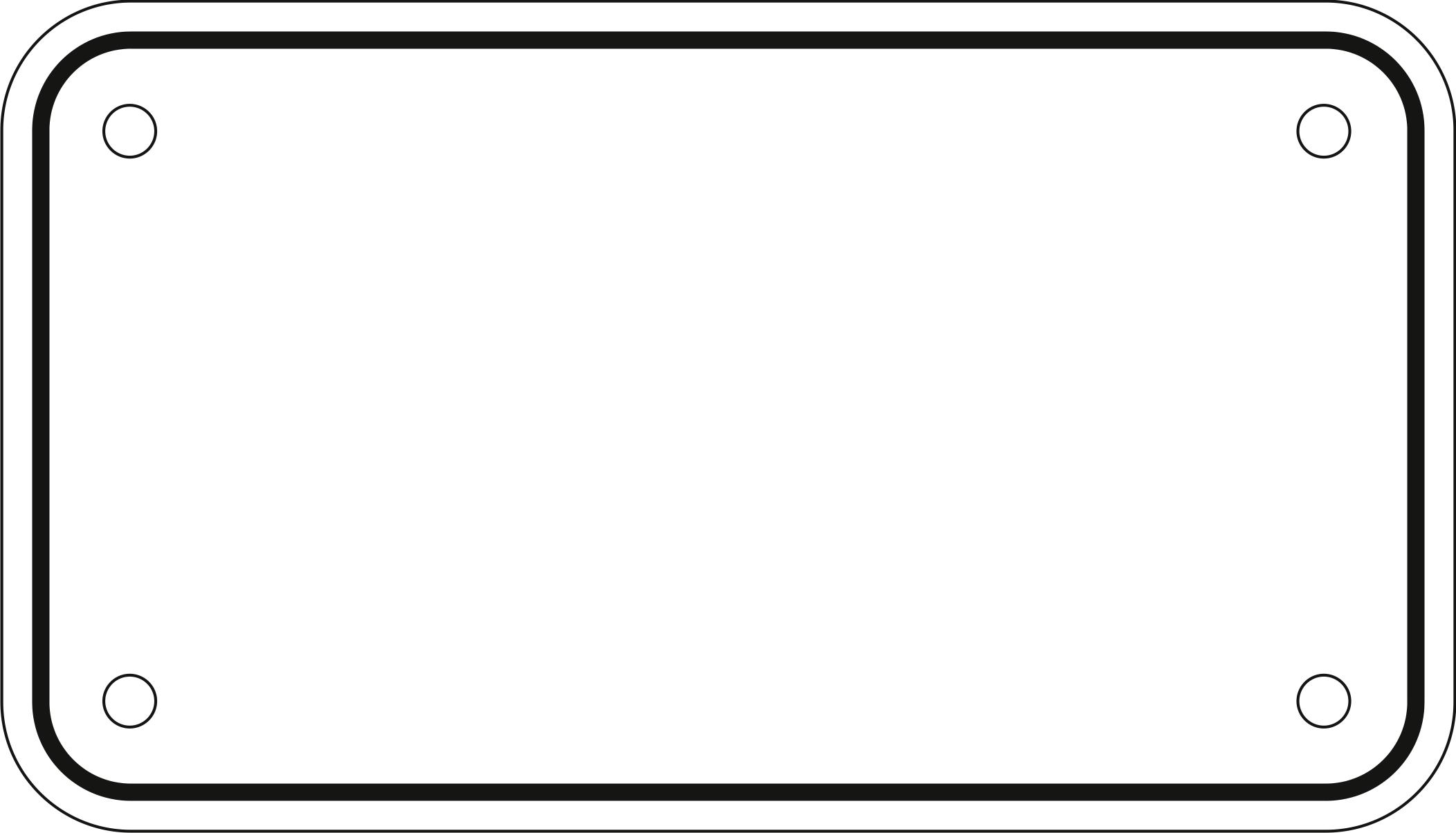 License Plate Template Vector at GetDrawings.com.