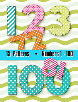 Number Clipart To 100 Worksheets & Teaching Resources.