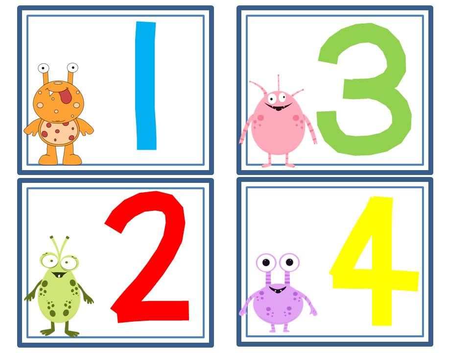 Printables Number Chart 1.