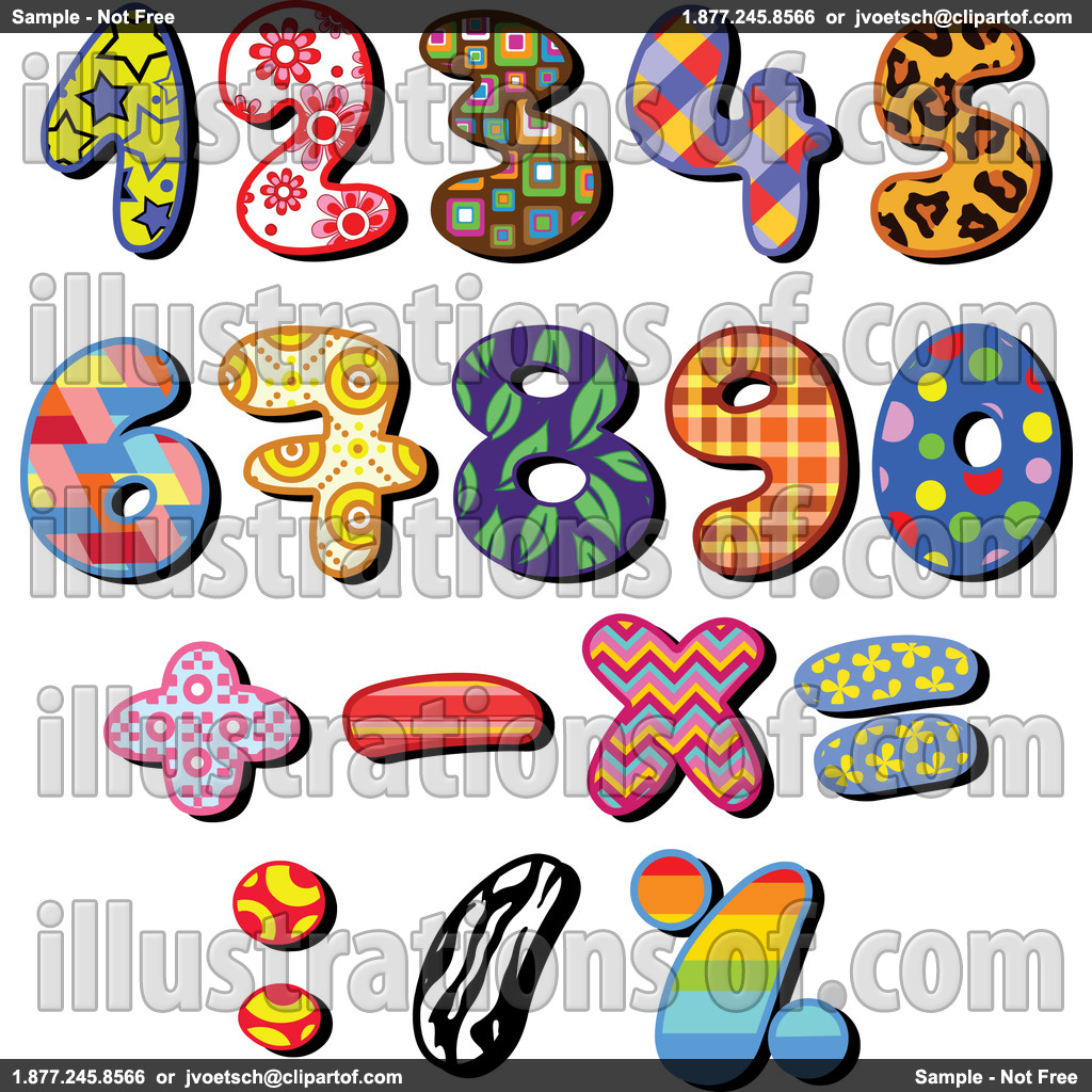 Clipart Numbers 1 To 20.
