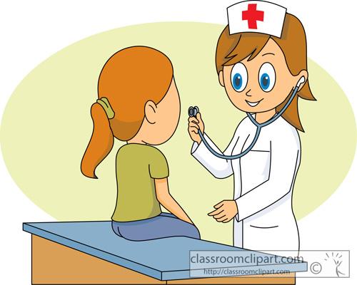 Clipart Nurse And Patient.