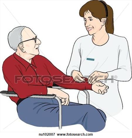 Nurse and patient clipart 1 » Clipart Station.