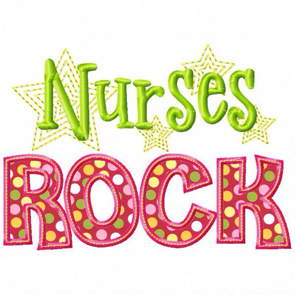 Nurses rock.