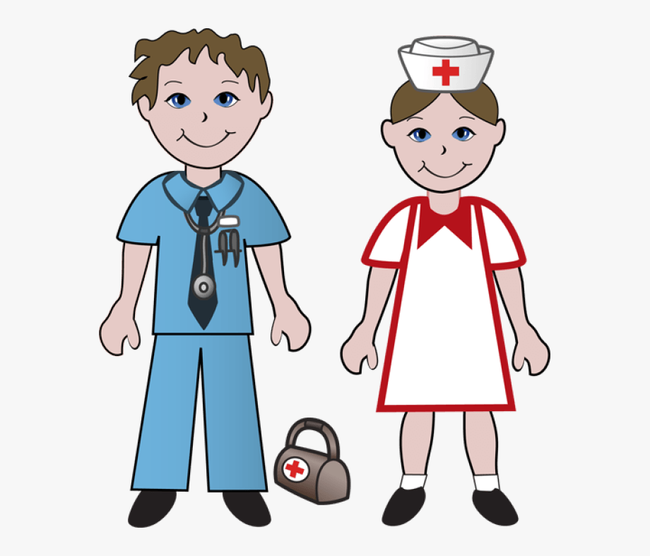 Nurse And Doctor Clipart.