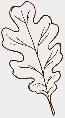 Free clip art ~ oak leaf.