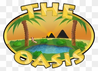 Server Oasis Clipart (#3213062).