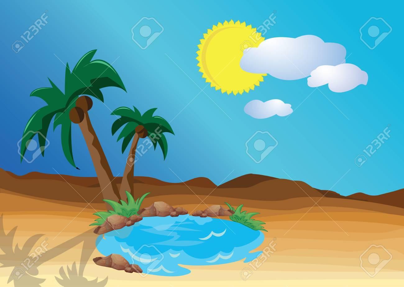 Desert oasis clipart 9 » Clipart Portal.