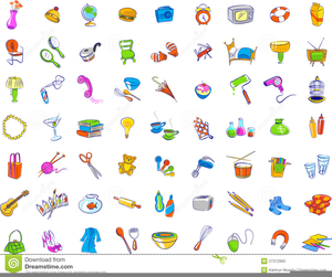 Everyday Object Clipart.