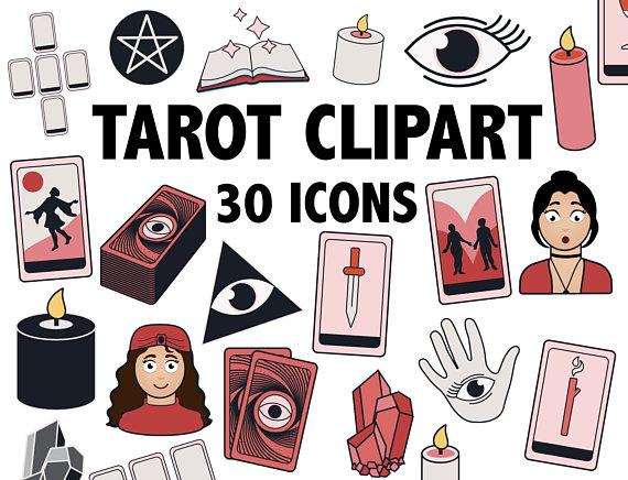 TAROT CLIPART.