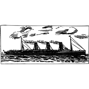 Ocean Liner clipart, cliparts of Ocean Liner free download (wmf, eps.