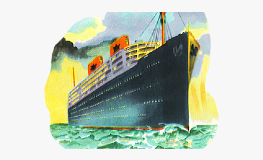 Cruise Ship Clipart Ocean Liner.