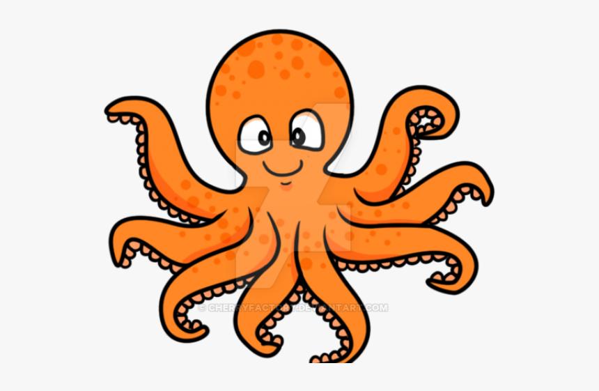Octopus Clipart Cartoon.