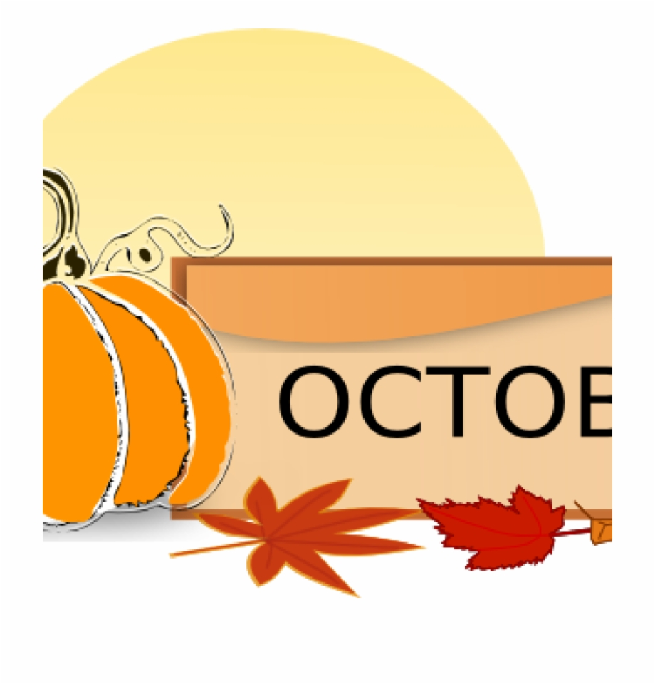 Clip Art For October October Clip Art At Clker Vector.