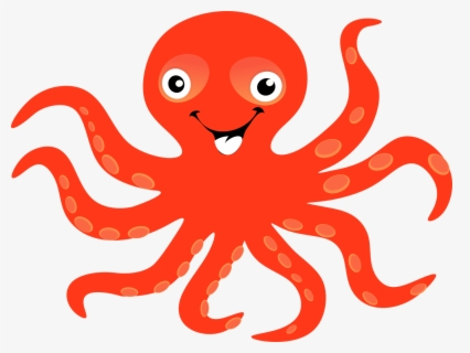 Free Octopus Clip Art with No Background.