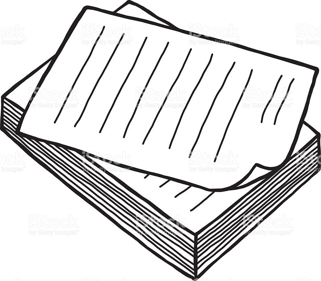 Pile de documents clipart 4 » Clipart Station.