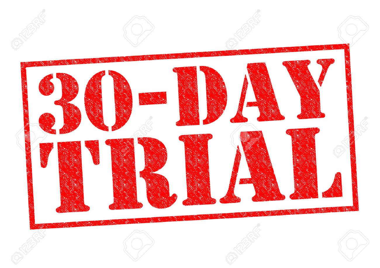 30 Days Free Clip Art.
