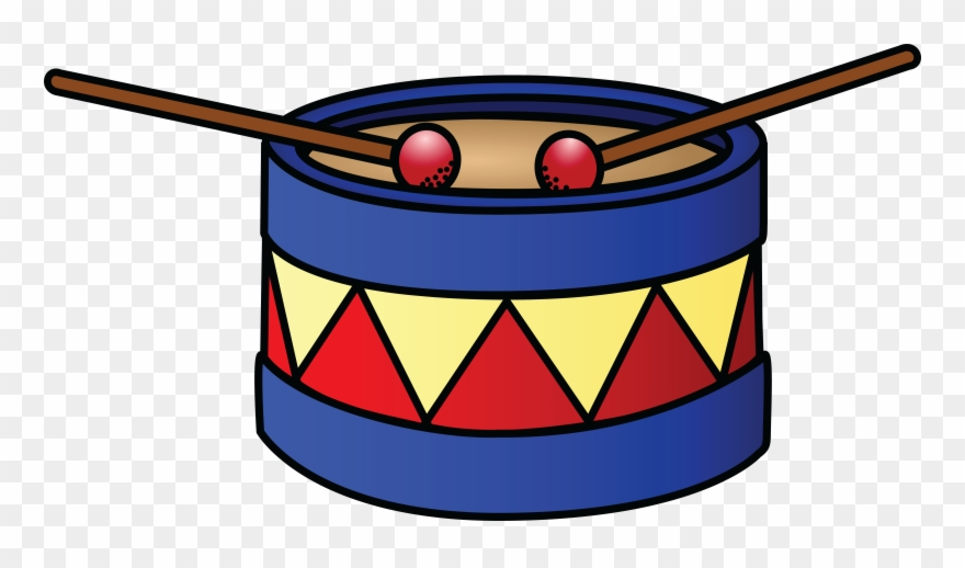 Free Clipart Of A Drum.