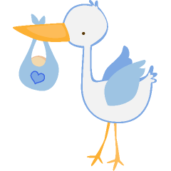 Baby boy free baby clipart.