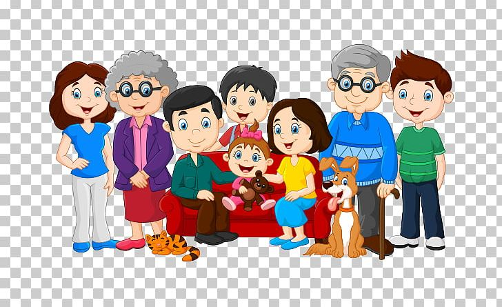 Family PNG, Clipart, Art, Big Family, Boy, Cartoon, Child Free PNG.