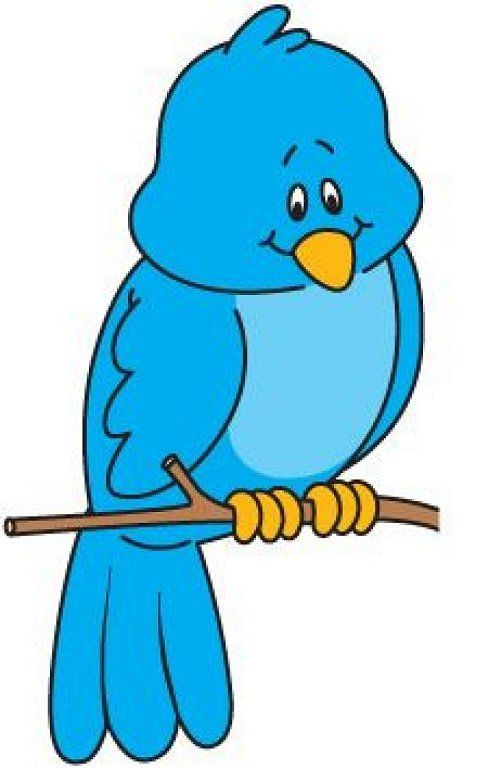 Sad Bird Clip art.