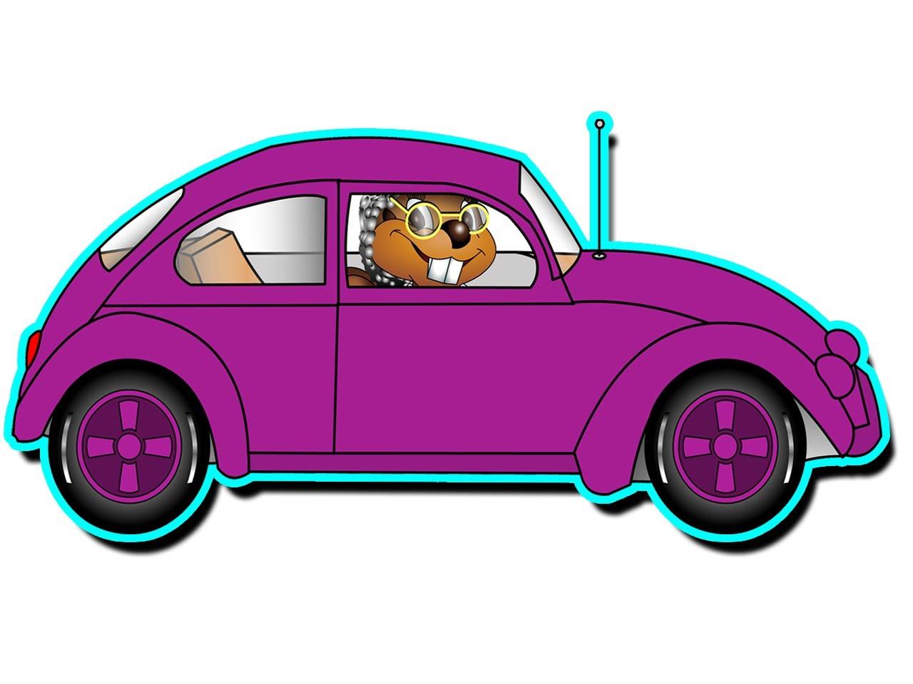 Grandma's Got a Little Purple Car