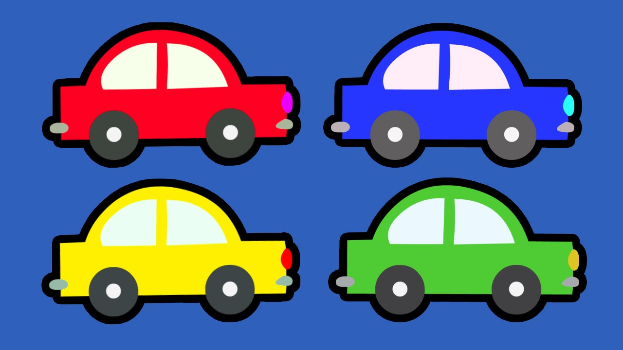 Clipart Of A Blue Car For Preschoolers Clipground