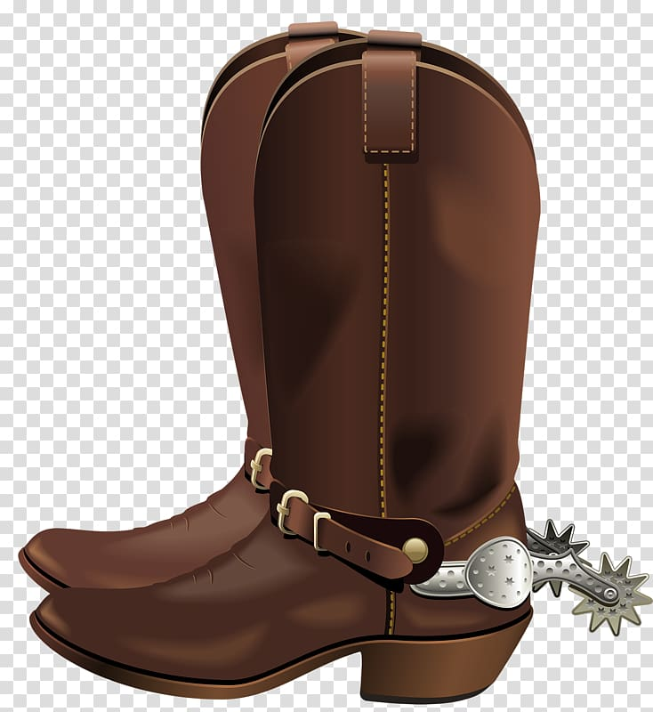 Boot Shoe, Brown boots transparent background PNG clipart.
