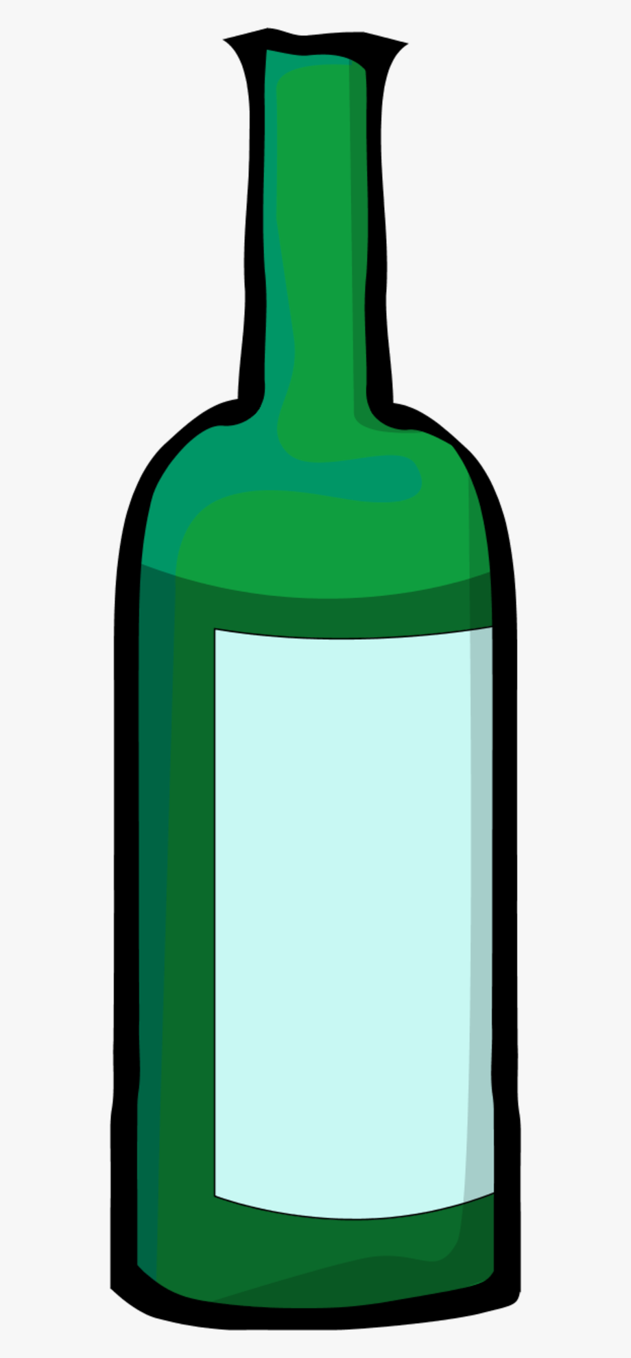 Bottle Clipart Green Bottle.