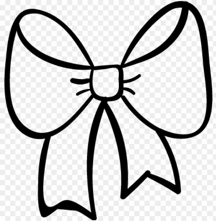 white bow clipart.