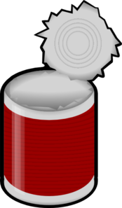 Clipart Of Can.