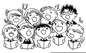 Free Clipart Choir Singers.