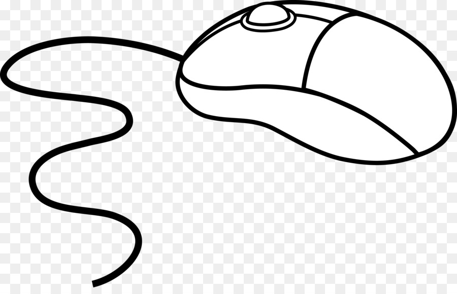 Clipart Of A Computer Mouse.