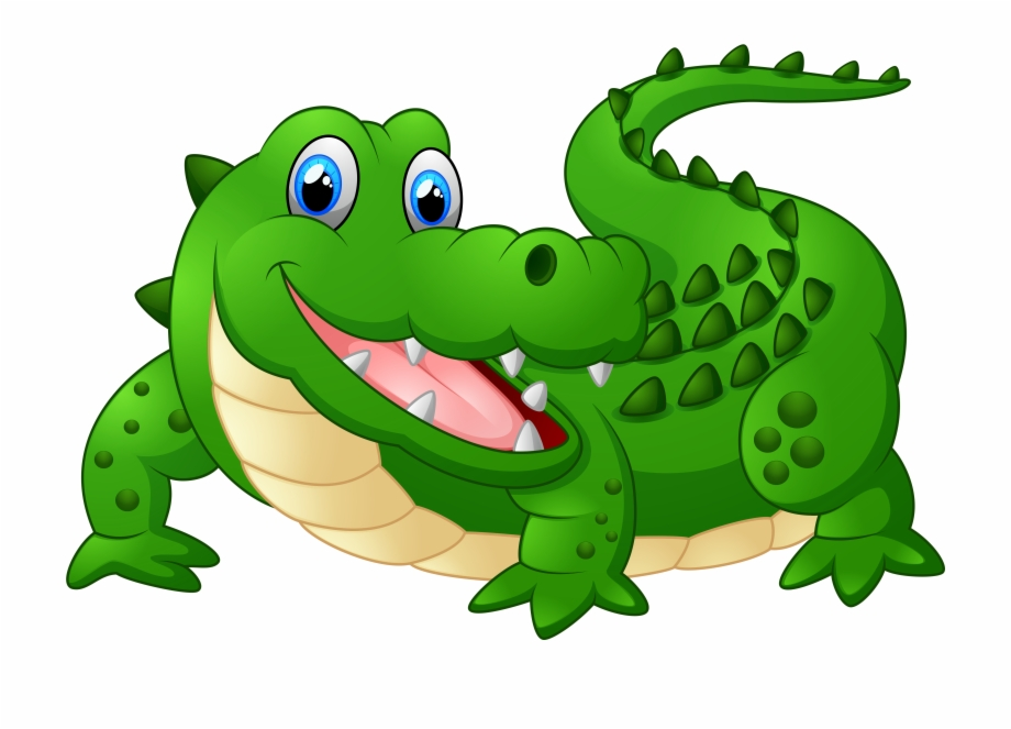 Alligator Clipart Kawaii.