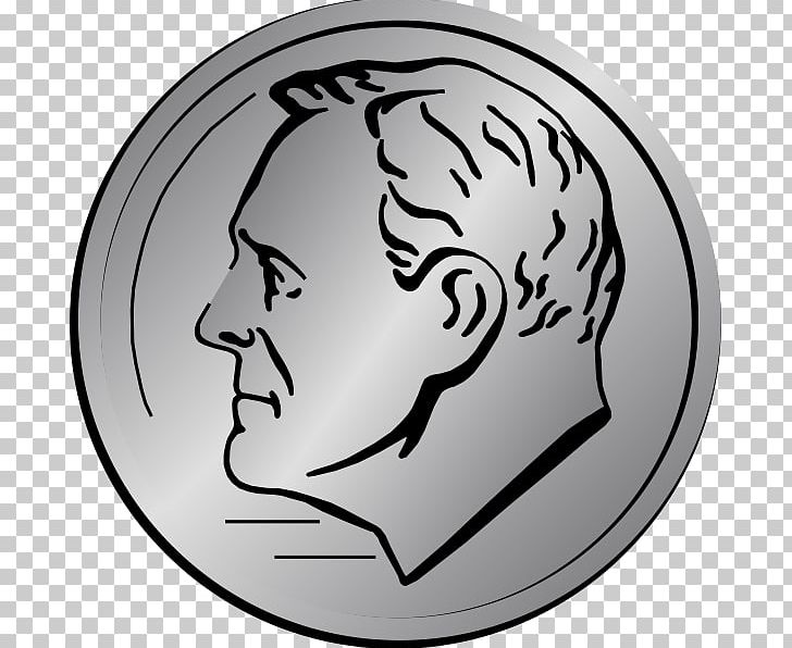 Dime Penny Coin PNG, Clipart, Black And White, Blog, Canadian Dollar.