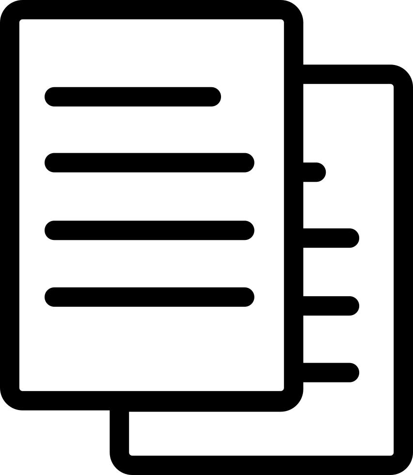 Document Icon clipart.