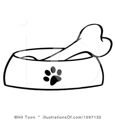 Clipart Of Dog Bones.