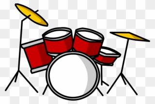 Drum Set Clipart, Transparent Drum Set Clip Art Png Download.