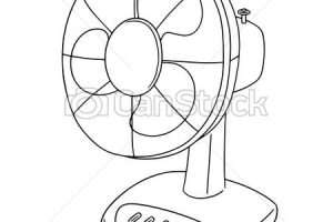 Clipart of fan 2 » Clipart Station.