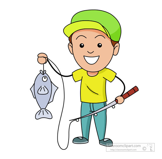 Clipart Of Fisherman.