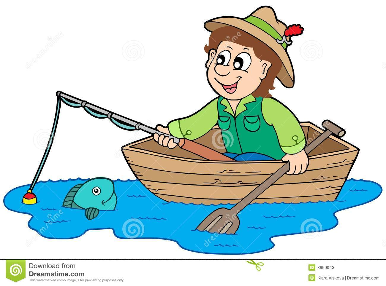 Fisherman clipart 6 » Clipart Station.