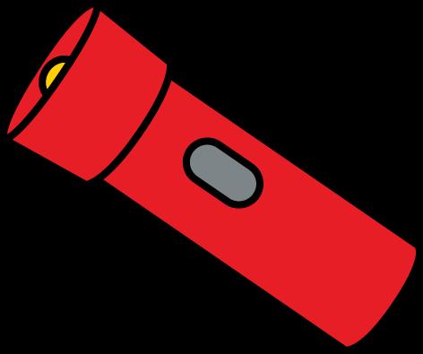 Flashlight clip art from MyCuteGraphics.